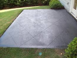 Backyard Concrete Patio Ideas by Stained Concrete Patios Billdiehlconcrete Services We Are A