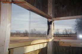 Sliding Deer Blind Windows Decorating Sliding Windows For Deer Blinds Inspiring Photos