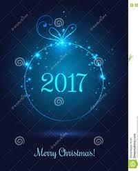 shiny for merry 2017 celebration on blue