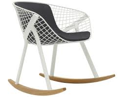 Rocking Chair Kobi Rocking Chair With Medium Pad Hivemodern Com