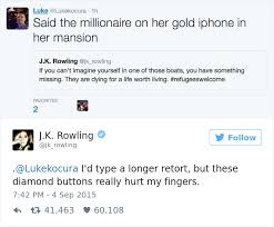 These Are The Funniest Tweets - 10 times j k rowling brutally destroyed internet trolls bored panda