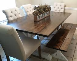 Farmhouse Dining Room Sets Dining Room Table Etsy