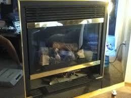 fireplace door glass replacement gas fireplace repair dirty glass my gas fireplace repair