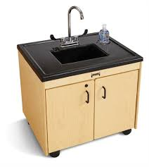 JontiCraft JC  Child Height Portable Sink Plastic Sink - Kitchen sink portable