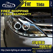 nissan headlights car styling head lamp for nissan tiida headlights 2008 2011 tiida