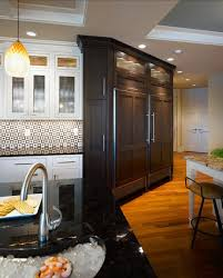 Dura Supreme Cabinet Construction Wood Refrigerator Paneling How To Hide Your Kitchen Appliances
