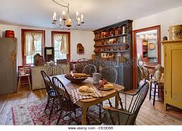 Colonial Dining Room Stock Photos  Colonial Dining Room Stock - Colonial dining rooms