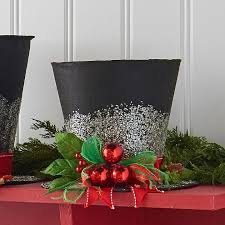 raz black top hat decoration shelley b home and