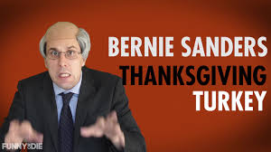funny thanksgiving clips bernie sanders videos articles pictures funny or die