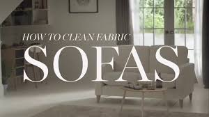m s home how to clean fabric sofas