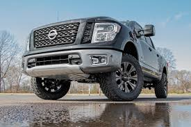 nissan titan pro 4x lift kit 3in bolt on kit w lifted front struts for 2004 2017 nissan 4wd