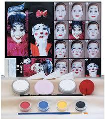 Halloween Makeup Kit by Clown Makeup Kit Kids Costumes Kids Halloween Costumes