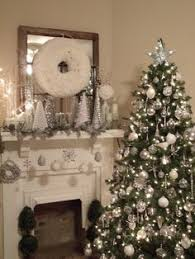 White Christmas Decorations For A Tree by Gold Silver And White Christmas Decor Centsational Blog