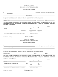 Template For Power Of Attorney Letter by Automobile Power Of Attorney Form 25 Free Templates In Pdf Word