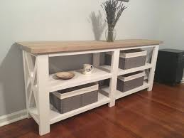 rustic x console table rustic x console table farmhouse x table