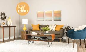 Yellow And Green Living Room Accessories Trend Alert Mid Century Modern Furniture And Decor Ideas