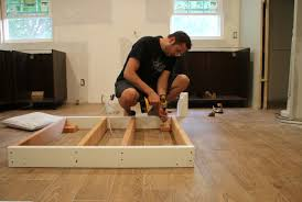 install kitchen island how to anchor kitchen island to tile floor morespoons 2ecc55a18d65