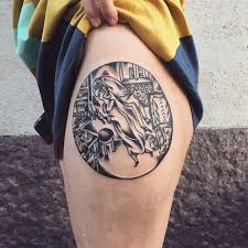 history of tattoo design 29 museum worthy tattoos inspired by art history