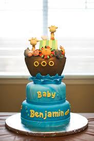 noah ark baby shower noah s ark baby shower cake cakecentral