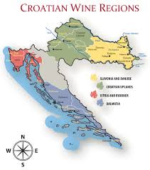 Map Of Italy Wine Regions by Croatian Fine Wines Limited List Of Croatian Wine Producers