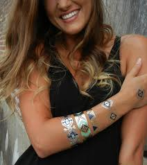 gypsy jewelry gypsy bracelet metallic tattoos gypsy