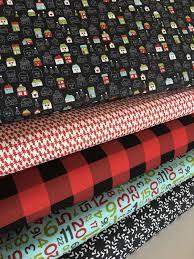 christmas fabric christmas quilt fabric hometown christmas