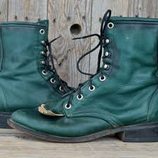 womens boots green leather best womens roper boots products on wanelo