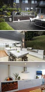 Outside Kitchen Ideas Best 25 Modern Outdoor Kitchen Ideas On Pinterest Asian Outdoor