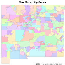 Printable Zip Code Maps by