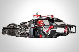 audi race car audi r18 e tron quattro cutaway race car eurocar news