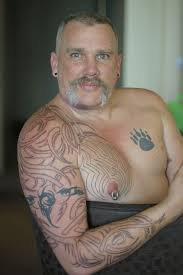 25 adorable tribal chest tattoos creativefan
