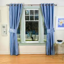 Simple Blue Living Room Designs Beautiful Design Curtains For Short Windows Curtain For Short