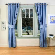 Blue Curtains Drapes Curtainsbedroom Curtainswindow Treatmentsbedroom Curtain