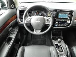 mitsubishi outlander interior 2015 mitsubishi outlander interior review u2013 aaron on autos