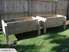 raised vegetable garden box i really would love something like