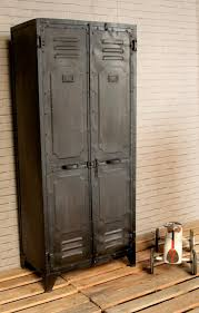 Pottery Barn Locker Dresser Metal Locker Dresser Traditional Interior Design With Industrial