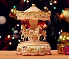 dazzle color luminescence carousel box merry go