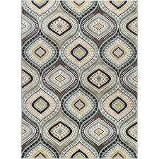 Blue Brown Area Rugs 8 X 10 Large Aqua Blue Brown Gold Area Rug Rc Willey
