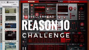Challenge Reason Propellerhead Reason 10 Challenge Organic Instruments