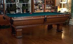 high end pool tables elegant brunswick high end pool tables f x ganter s pool table