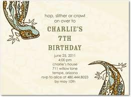 reptile invitations birthday image collections invitation design