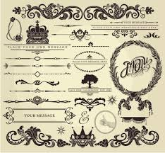 wedding ornaments vector corel draw tutorial and free vectors