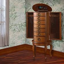 Wooden Jewelry Armoire Powell Jewelry Armoire Replacement Parts Style Guru Fashion