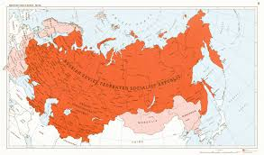 Large Map Of The United States by A Very Large Soviet Union By 1blomma On Deviantart