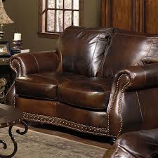 Leather And Tapestry Sofa Loveseat Black Leather Loveseat Leather Sofa Loveseat Recliner