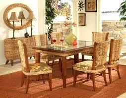 indoor wicker dining table indoor wicker dining chairs view full size rattan indoor dining