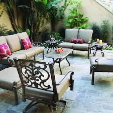 santa barbara cast aluminum collection by darlee ultimate patio