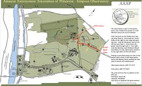 Princeton Map Amateur Astronomers Association Of Princeton