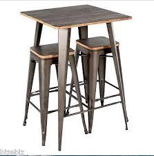 charming rustic bistro table rustic pub set wood bistro sets