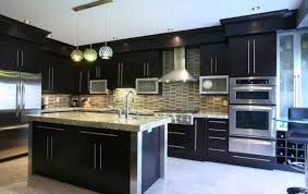 cabinet modern kitchen interior design model home interiors